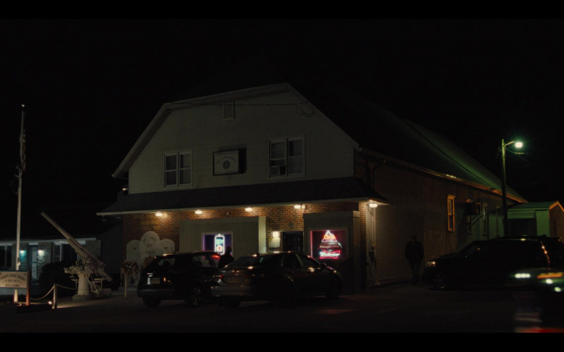 Miller Lite, Coors Light and Budweiser Neon Sign in Mare of Easttown Episode 1 Miss Lady Hawk Herself (2021)
