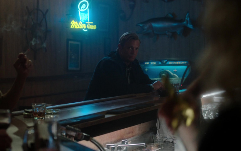 Miller Time Neon Sign in For All Mankind S02E09 Triage (2021)