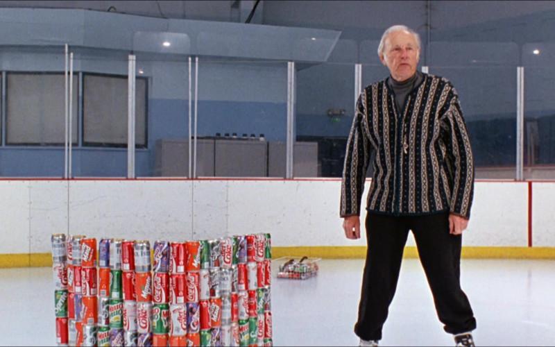 Minute Maid, Coca-Cola, Fresca, Barq's, Diet Coke, Mello Yello, Cherry Coke in D2 The Mighty Ducks (2)