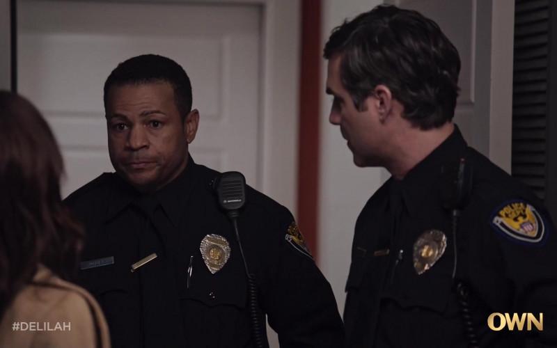 Motorola Police Radio in Delilah S01E05 No Good Deed (2021)