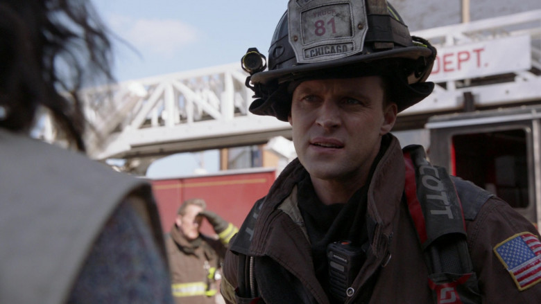 Motorola Radios Used by Firefighters (Actors) in Chicago Fire S09E10 TV Series (1)