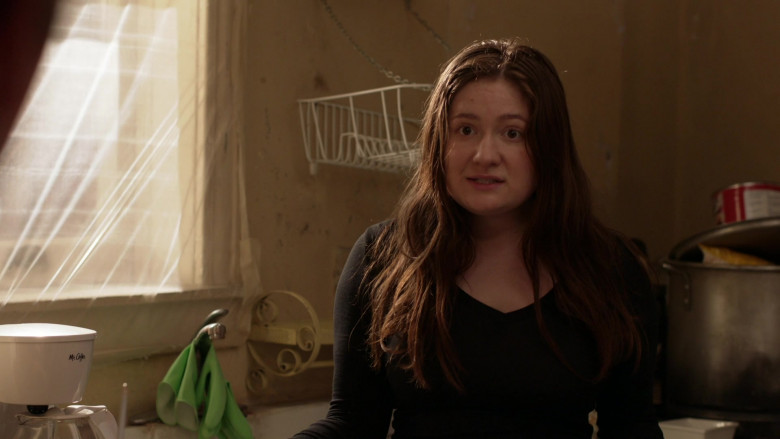 Mr. Coffee Coffee Maker Used by Emma Kenney as Debbie Gallagher in Shameless S11E11 TV Show (2)