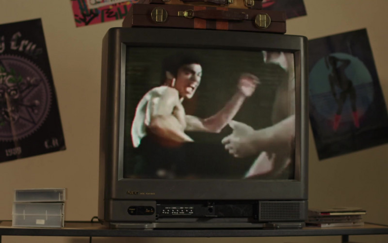 NEC TV in Young Rock S01E07 Johnson & Hopkins (2021)