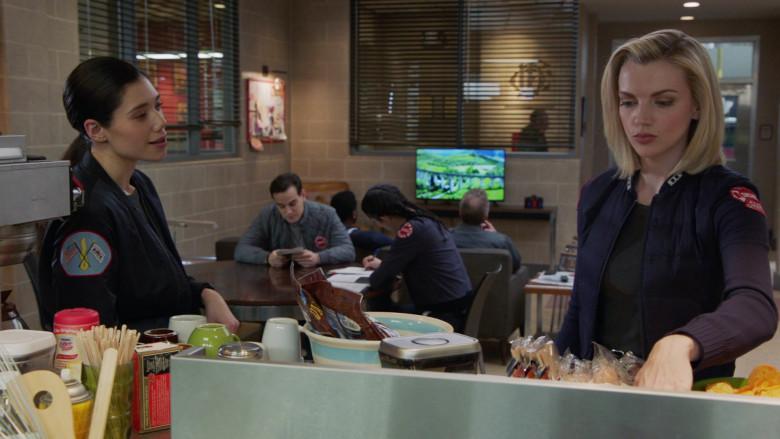 Nestle Coffee mate Coffee Creamer in Chicago Fire S09E10 One Crazy Shift (2021)
