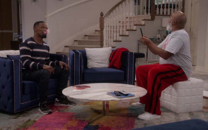 New Balance Sneakers Worn by Jamie Foxx as Brian Dixon in Dad Stop Embarrassing Me! S01E05 (1)
