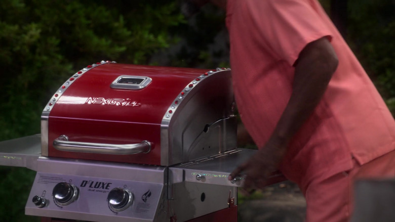 Nexgrill Deluxe Dual Energy Grill in Dad Stop Embarrassing Me! S01E06 (1)