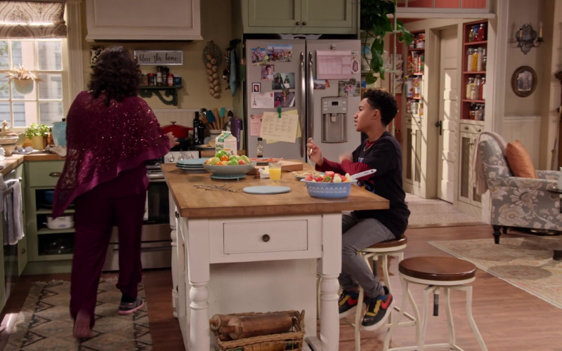 Nike Air Force 1 Low BHM Black History Month Sneakers of Cameron J. Wright as Mazzi McKellan in Family Reunion S03E07 (1)