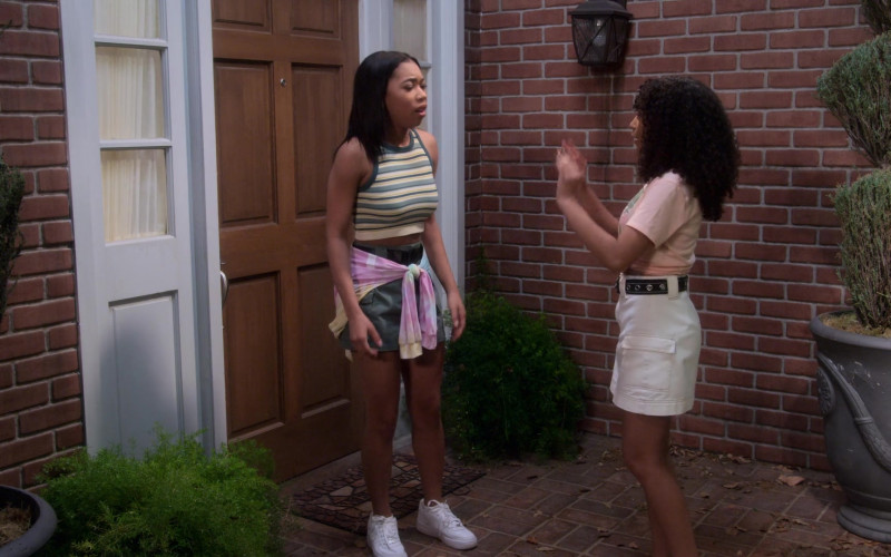 Nike Air Force 1 Shoes of Kyla-Drew as Sasha Dixon in Dad Stop Embarrassing Me! S01E06 #ThrillaOnTheGrilla (2021)