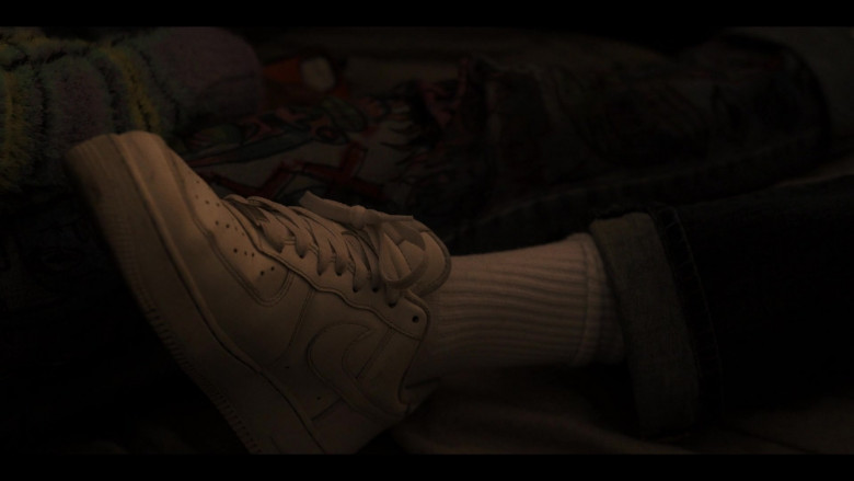 Nike Air Force 1 White Sneakers in Generation S01E08 The Last Shall Be First (2021)