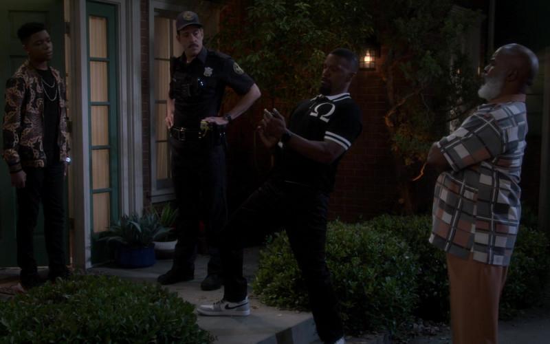 Nike Air Jordan 1 Low Shoe of Jamie Foxx as Brian Dixon in Dad Stop Embarrassing Me! S01E04 (2)