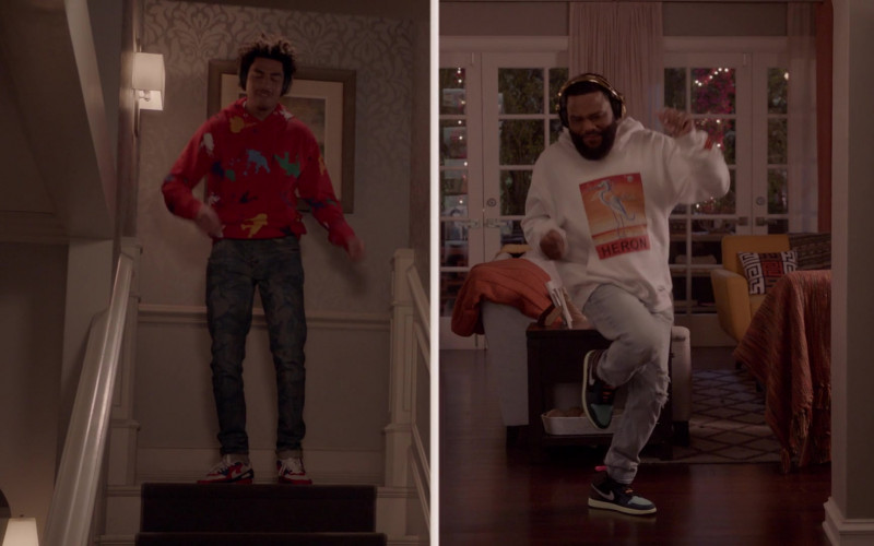 Nike Air Jordan 1 Sneakers of Anthony Anderson as Andre 'Dre' Johnson in Black-ish S07E17