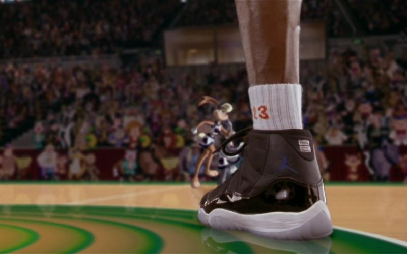 Nike Air Jordan 11 Sneakers Worn by Michael Jordan in Space Jam 1996 Movie (1)