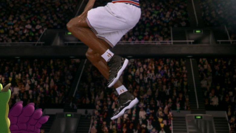 Nike Air Jordan 11 Sneakers Worn by Michael Jordan in Space Jam 1996 Movie (4)