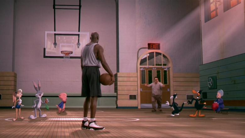 Nike Air Jordan 9 Sneakers of Michael Jordan in Space Jam 1996 Movie (2)
