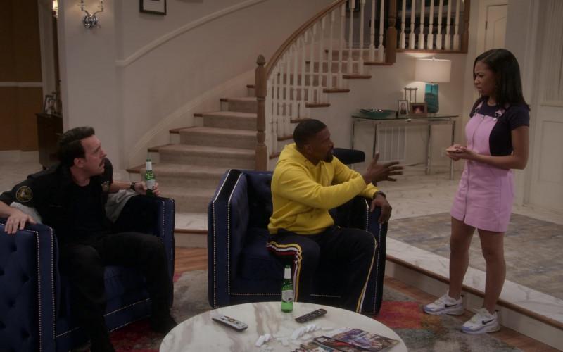 Nike Air Max 270 React Sneakers of Kyla-Drew as Sasha Dixon in Dad Stop Embarrassing Me! S01E04 Netflix TV Show 2021