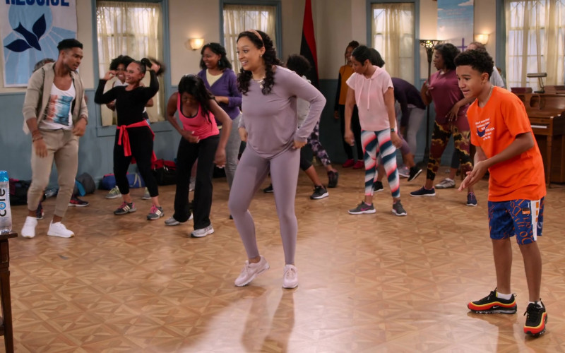 Nike Air Max 97 Multicolor Sneakers of Cameron J. Wright as Mazzi McKellan in Family Reunion S03E08