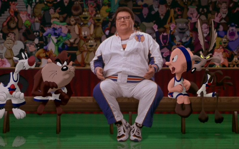 Nike Air Structure Triax Sneakers of Wayne Knight as Stan Podolak in Space Jam (1996)
