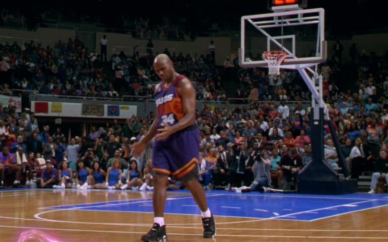 Nike Basketball Black Sneakers in Space Jam (1996)