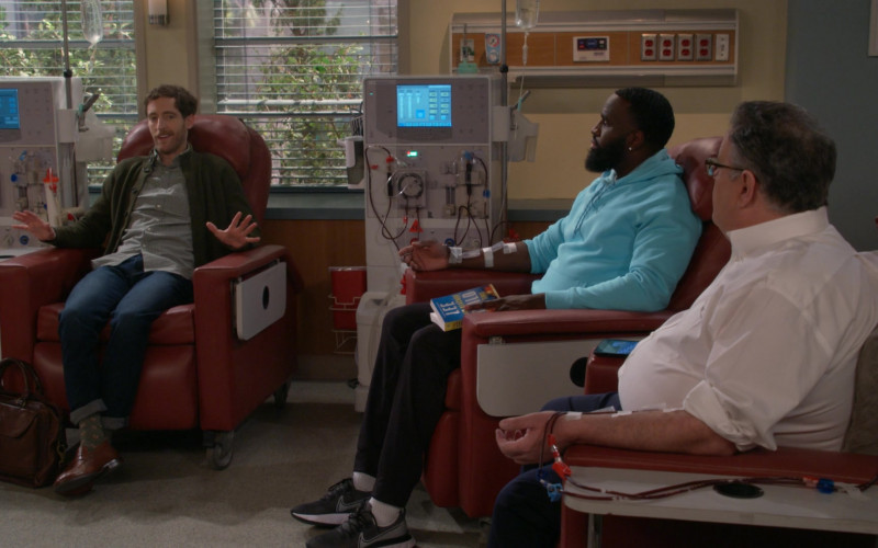 Nike Men's Shoes Worn by Terrence Terrell in B Positive S01E13 Inflammatory Response (2021)