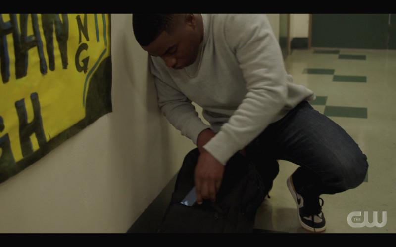 Nike Men's Shoes of Daniel Ezra as Spencer James in All American S03E09 Testify (2021)