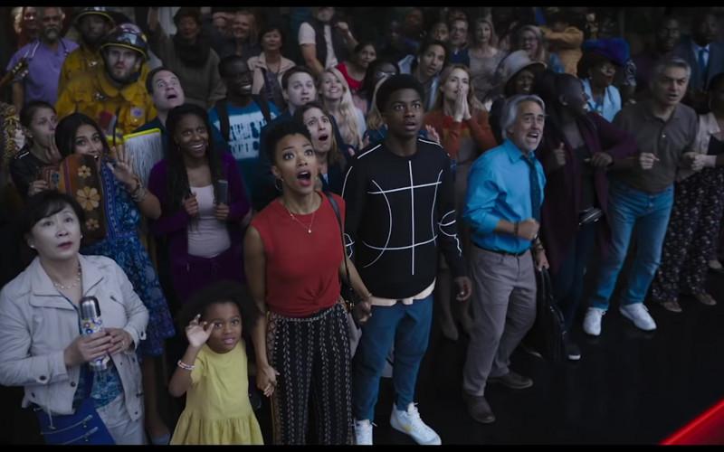 Nike Men's Sneakers of Ceyair J. Wright as Darius James in Space Jam 2 A New Legacy (2021)