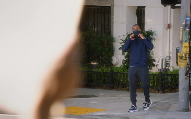 Nike Men's Sneakers of Jesse Williams as Jackson Avery in Grey's Anatomy S17E12 Sign O' the Times (2021)
