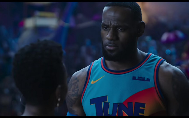 Nike 'Tune Squad' Basketball Team Jersey Worn by LeBron James in Space Jam 2 Movie (1)