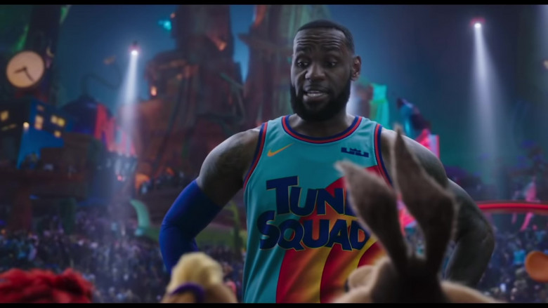 Nike 'Tune Squad' Basketball Team Jersey Worn by LeBron James in Space Jam 2 Movie (2)