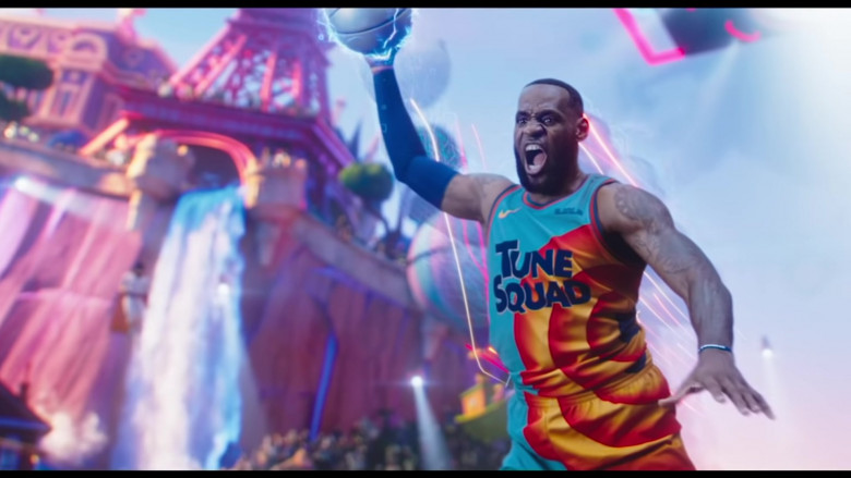 Nike 'Tune Squad' Basketball Team Jersey Worn by LeBron James in Space Jam 2 Movie (3)