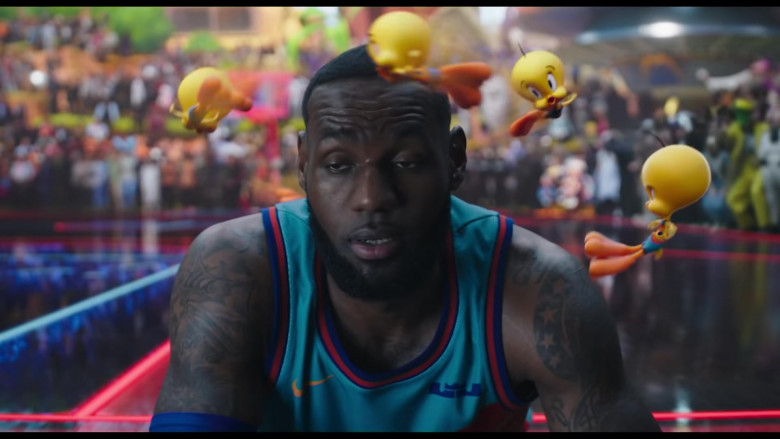 Nike 'Tune Squad' Basketball Team Jersey Worn by LeBron James in Space Jam 2 Movie (4)