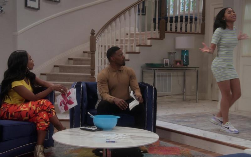 Nike Women's Sneakers of Kyla-Drew as Sasha in Dad Stop Embarrassing Me! S01E07 #RichDadWokeDad (2021)