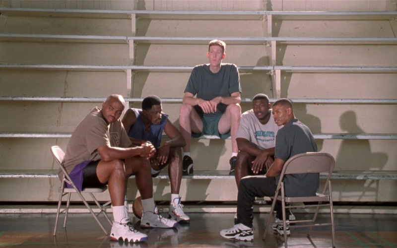 Nike and Reebok Sneakers Worn by Basketball Players in Space Jam (1996)