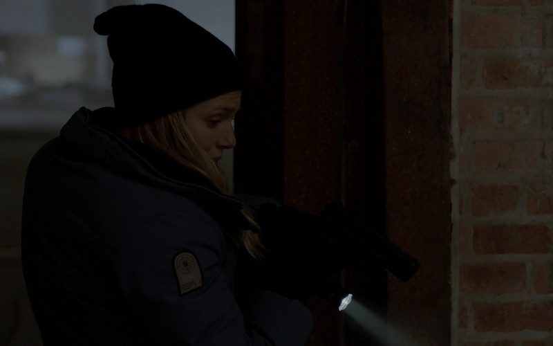 OSC Women's Blue Jacket of Tracy Spiridakos as Detective Hailey Upton in Chicago P.D. S08E12 Due Process (2021)