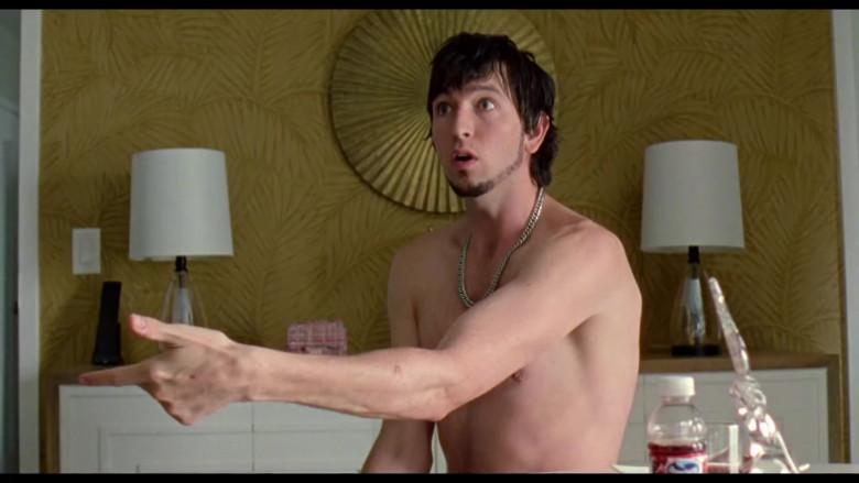 Ocean Spray Juice Bottle of Nicholas Braun as Derrek in Zola (2020)