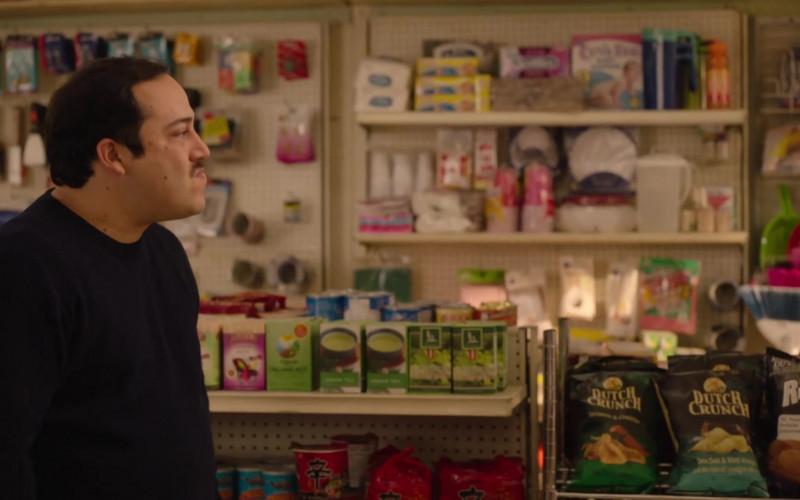 Old Dutch Dutch Crunch Chips in Kim's Convenience S05E12 Hugs & Prayers (2021)