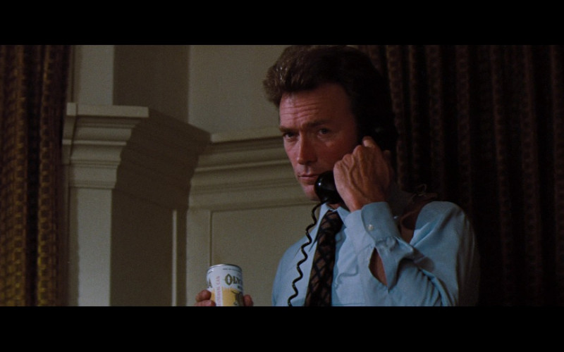 Olympia Beer Enjoyed by Clint Eastwood as SFPD Homicide Inspector Harry Callahan in Magnum Force 1973 Film (1)