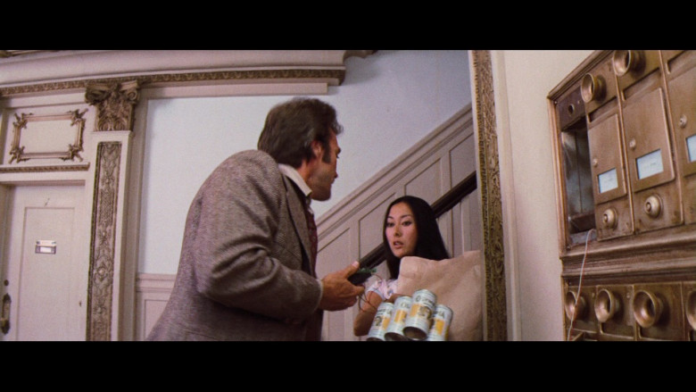 Olympia Beer Enjoyed by Clint Eastwood as SFPD Homicide Inspector Harry Callahan in Magnum Force 1973 Film (2)