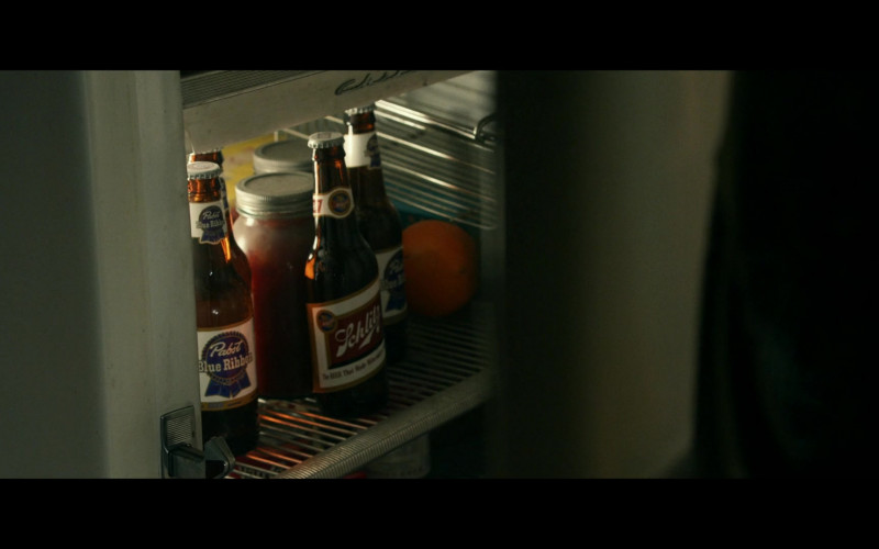 Pabst Blue Ribbon and Schlitz Beer Bottles in Them S01E08