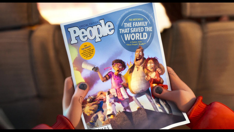 People Magazine in The Mitchells vs. the Machines (2021)