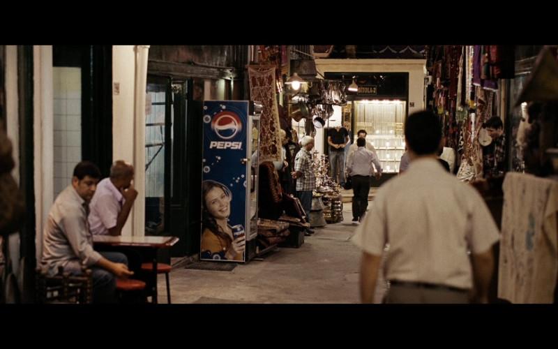 Pepsi Vending Machine in The International (2009)