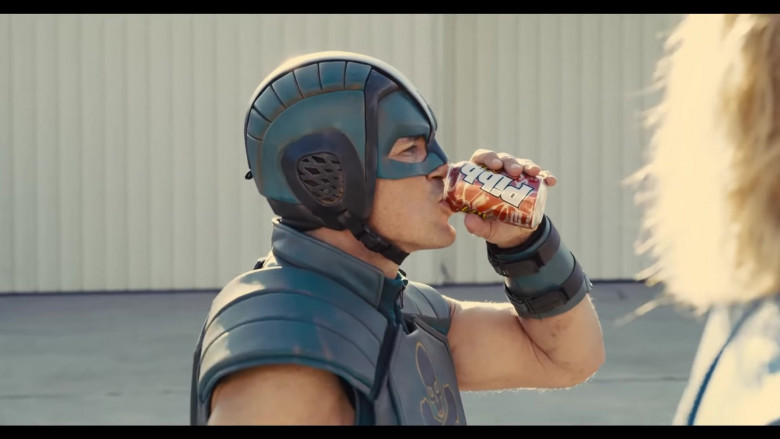 Pibb Xtra Soft Drink Enjoyed by Nathan Fillion as T.D.K. in The Suicide Squad 2 (2021)