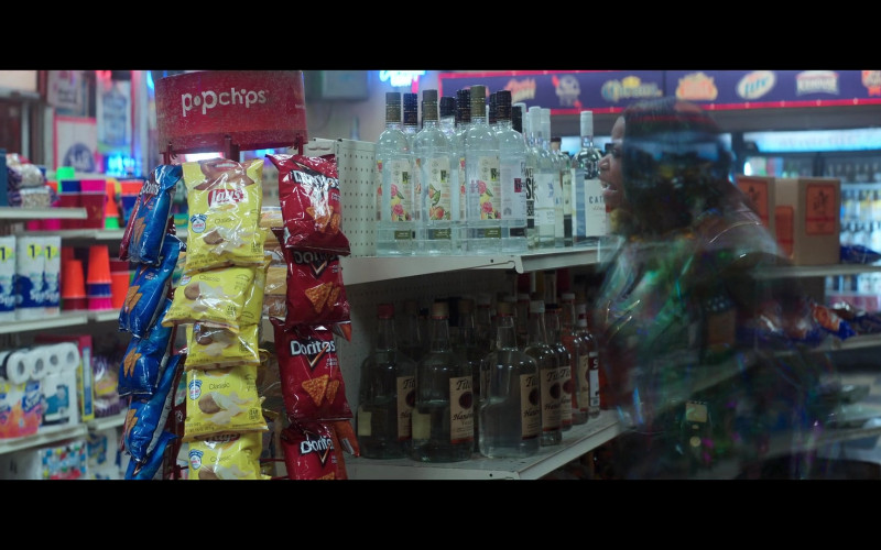 Popchips, Lay's, Doritos, Ketel One and Tito's Vodka in Thunder Force (2021)