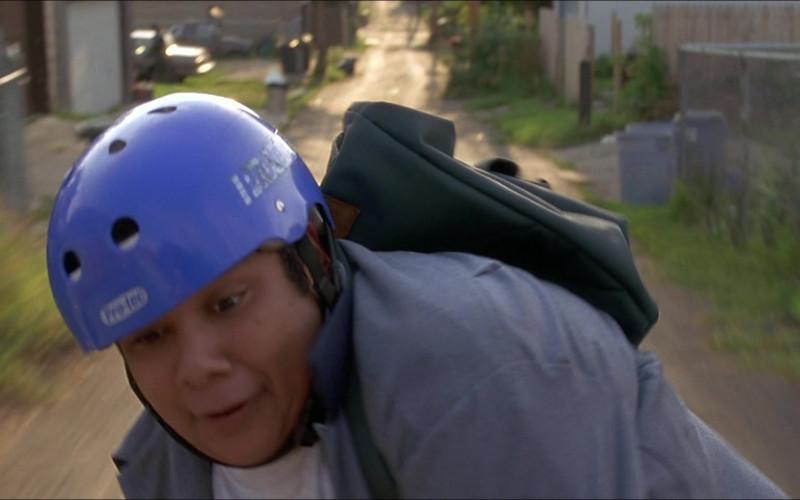 Pro-tec Helmet of Shaun Weiss as Greg 'The Goalie' Goldberg in D3 The Mighty Ducks 1996 Movie (1)