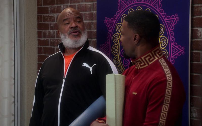 Puma Black Tracksuit of David Alan Grier as Pops Dixon in Dad Stop Embarrassing Me! S01E02 (1)