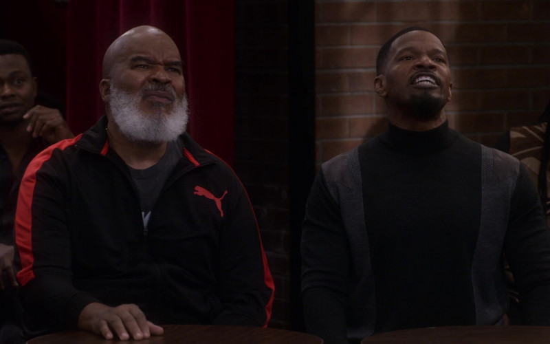 Puma Men's Jacket Worn by David Alan Grier as Pops in Dad Stop Embarrassing Me! S01E07 (2)