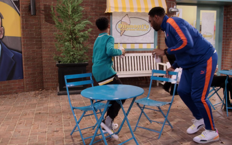 Puma Men's Sneakers Worn by Anthony Alabi as Moz McKellan in Family Reunion S02E05