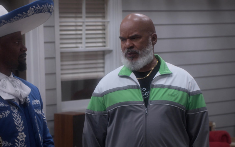 Puma Tracksuit of David Alan Grier as Pops Dixon in Dad Stop Embarrassing Me! S01E01 (3)