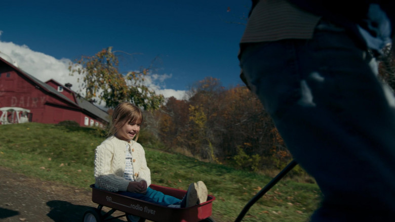 Radio Flyer 9a Red Wagon in Things Heard & Seen Movie by Netflix (1)