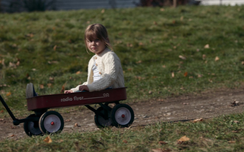 Radio Flyer 9a Red Wagon in Things Heard & Seen Movie by Netflix (2)