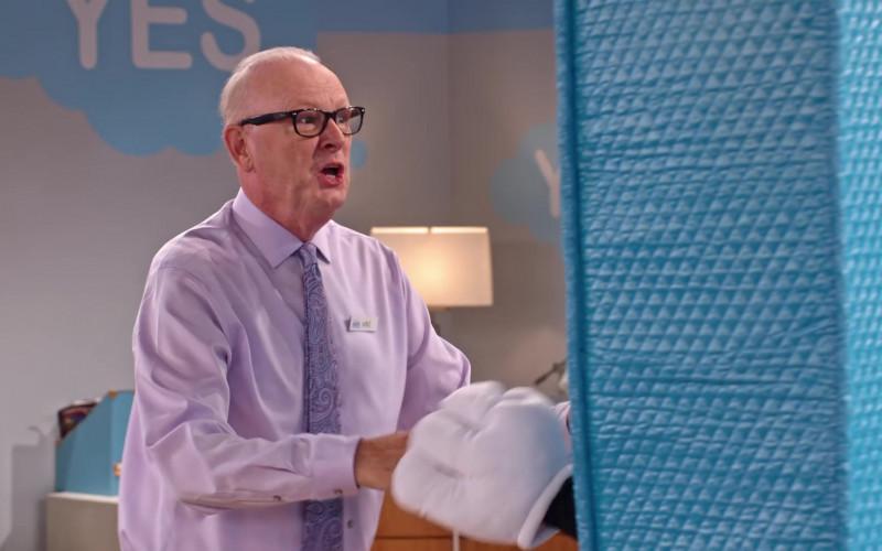 Ray-Ban Men's Eyeglasses in Family Reunion S02E06
